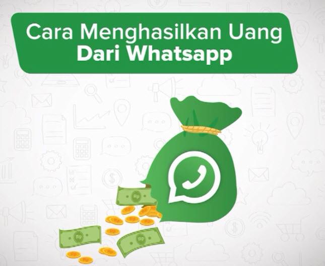 cara dapat uang via WA