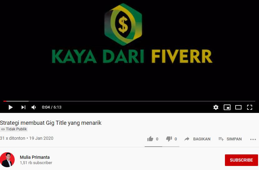 video kaya dari fiverr